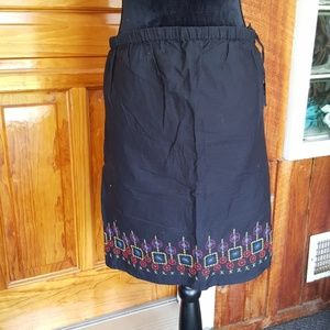Dresses & Skirts - MATERNITY SKIRT cute embroidery!